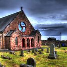 HDR Weymss Parish Church. by ninjabob