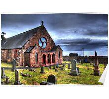 HDR Weymss Parish Church. Poster