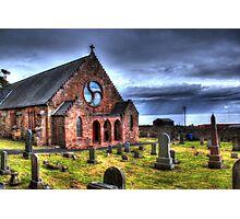 HDR Weymss Parish Church. Photographic Print