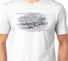 Airbus A380 Take-Off - Duvets, Cases, Pillows etc Unisex T-Shirt