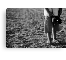 most young photographer Canvas Print