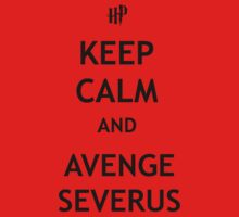 Keep Calm and Avenge Severus One Piece - Long Sleeve