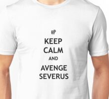 Keep Calm and Avenge Severus Unisex T-Shirt