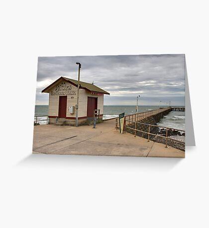 St Leonards Pier - Bellarine Peninsula Greeting Card