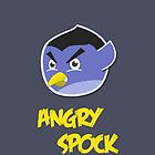 Angry Spock by Dominika Aniola