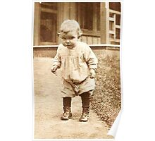 Little Gladys ~ Trotting On Foots Poster