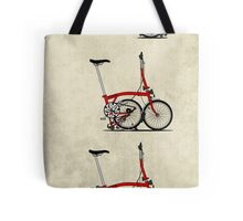 I Love My Folding Brompton Bike Tote Bag