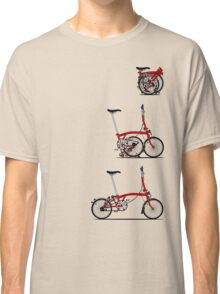 I Love My Folding Brompton Bike Classic T-Shirt