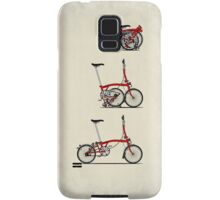 I Love My Folding Brompton Bike Samsung Galaxy Case/Skin