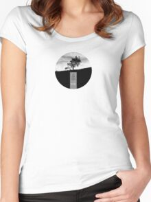 Henry David Thoreau - Solitude Women's Fitted Scoop T-Shirt