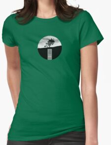 Henry David Thoreau - Solitude Womens Fitted T-Shirt