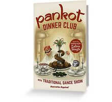 Pankot Dinner Club Greeting Card