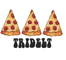 tridelt pizza by Lindsay Brandes