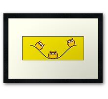 King of the wire Framed Print
