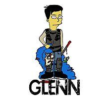 Glenn Rhee Character (Light) Photographic Print