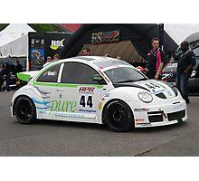 volkswagon Racing Cup Brands Hatch 2012 Photographic Print