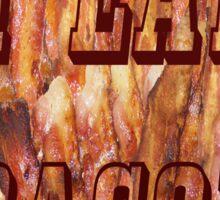 I Eat Bacon Sticker