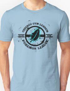 Chicago Pokemon Gym Leader Splatter Version T-Shirt