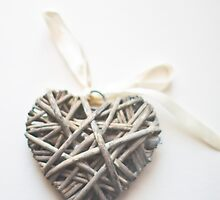 Wicker Heart  by Nicola  Pearson