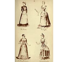 Fancy dresses described or What to wear at fancy balls by Ardern Holt 218 Nurse Night Elivia Primrose Tunchinella Photographic Print
