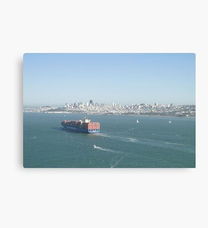 San Francisco Bay Giant Canvas Print