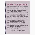 Diary of a Blonde by slyfan1