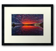 Ballina Sunset Framed Print