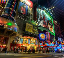 42nd Street NYC by Yhun Suarez