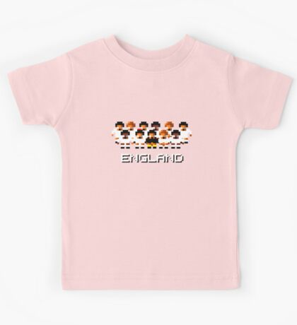 England - A Sensible Soccer Tribute Kids Tee