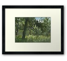 Plein Air 4 Framed Print