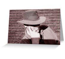 Cool Cowboy Greeting Card