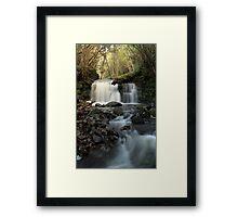 Strickland Ave Falls 2 Framed Print