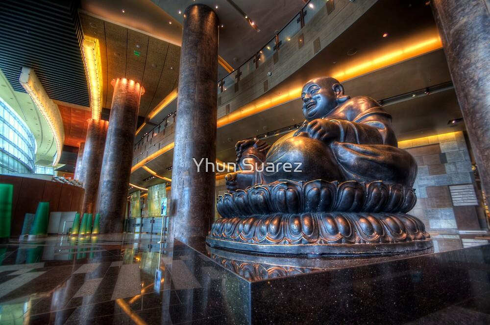 Vegas Buddha by Yhun Suarez