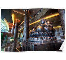 Vegas Buddha Poster