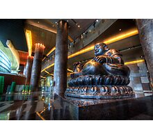 Vegas Buddha Photographic Print