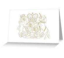 Dieu Et Mon Droit Greeting Card