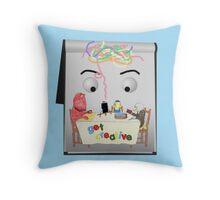Don't Hug Me I'm Creative Throw Pillow
