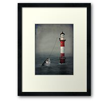 The Big Catch Framed Print