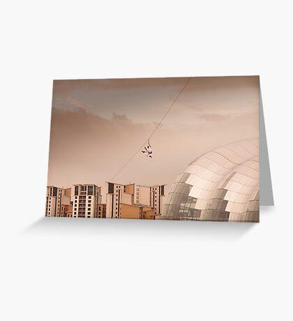 Zip Wire - Bear Grylls Greeting Card
