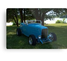 1932 Ford Roadster Hot Rod Metal Print