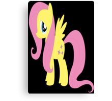my little pony friendship is magic Fluttershy poster Canvas Print
