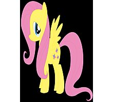 my little pony friendship is magic Fluttershy poster Photographic Print
