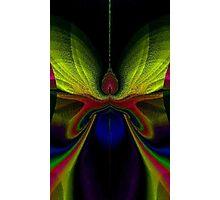 Mythical Fantasies: Rainbow Moth Photographic Print