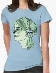 Dia de los Muertos Gypsy Womens Fitted T-Shirt