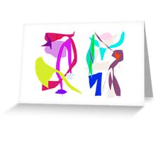 Words and Poetry  Greeting Card