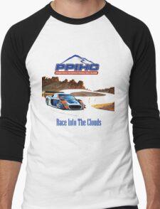 Pikes Peak Hill Climb Race into the clouds Men's Baseball ¾ T-Shirt