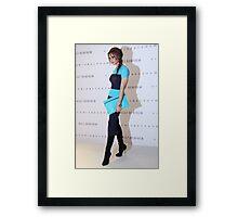 Victoria Beckham At Holt Renfrew Vancouver Framed Print