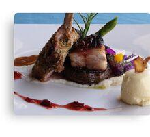 Enjoy Your Meal! - Disfruta Su Plato Canvas Print