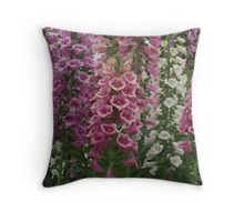 so many flowers  Throw Pillow