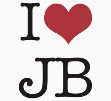 I Love JB Kids Tee